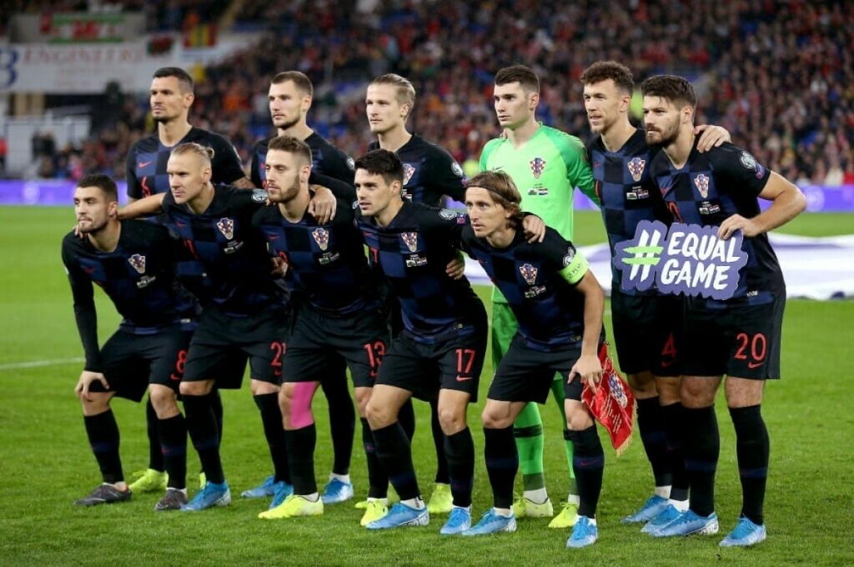 Theo BLV Huy Phước, Croatia có cơ hội để là đội xếp nhì bảng D EURO 2021. (Ảnh: Getty).