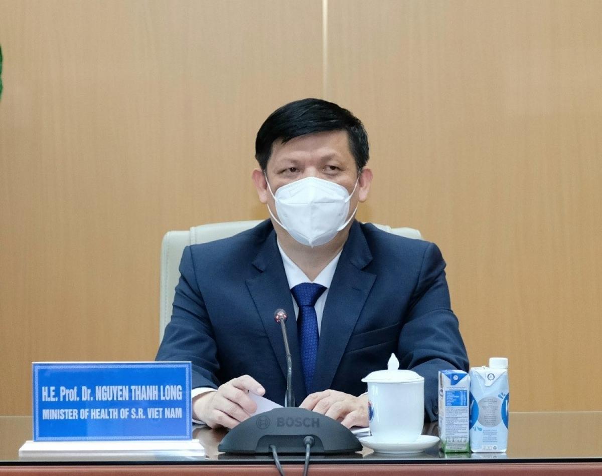 Bộ trưởng Bộ Y tế Nguyễn Thanh Long. (Ảnh: Đức Minh)