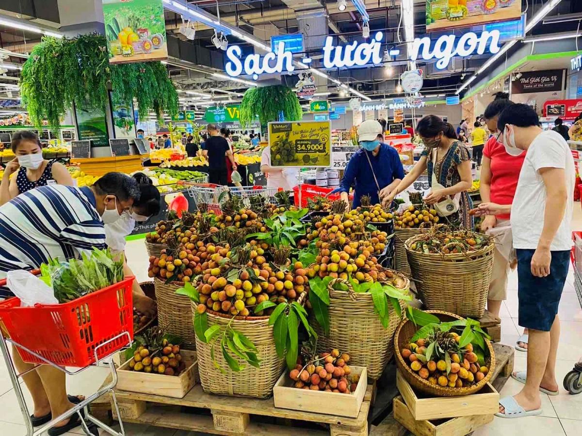 """Hàng hóa tại siêu thị VinMart/VinMart+ đáp ứng tiêu chí """"Tươi ngon thượng hạng""""."""