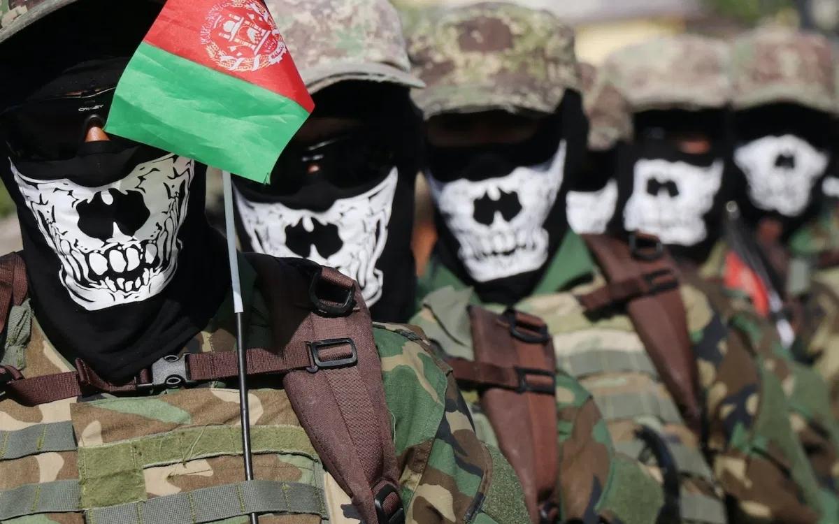 Lính đặc nhiệm Afghanistan. Ảnh: Anadolu.