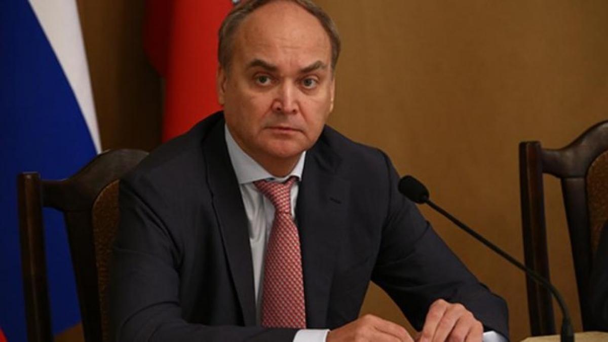 Đại sứ Nga tại Mỹ Anatoly Antonov. Ảnh: TASS
