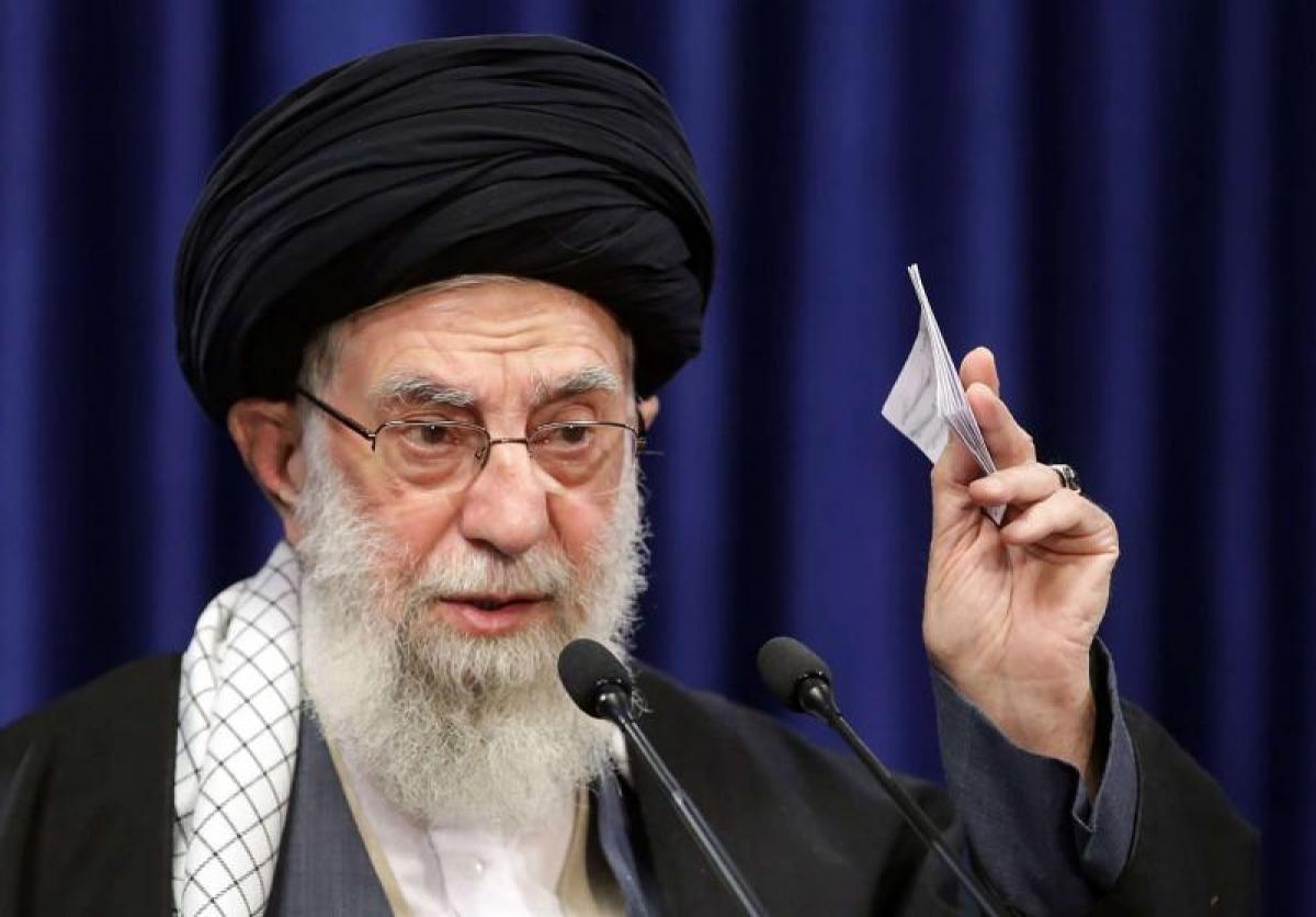 Đại giáo chủ Iran Ayatollah Ali Khamenei. Ảnh: AFP