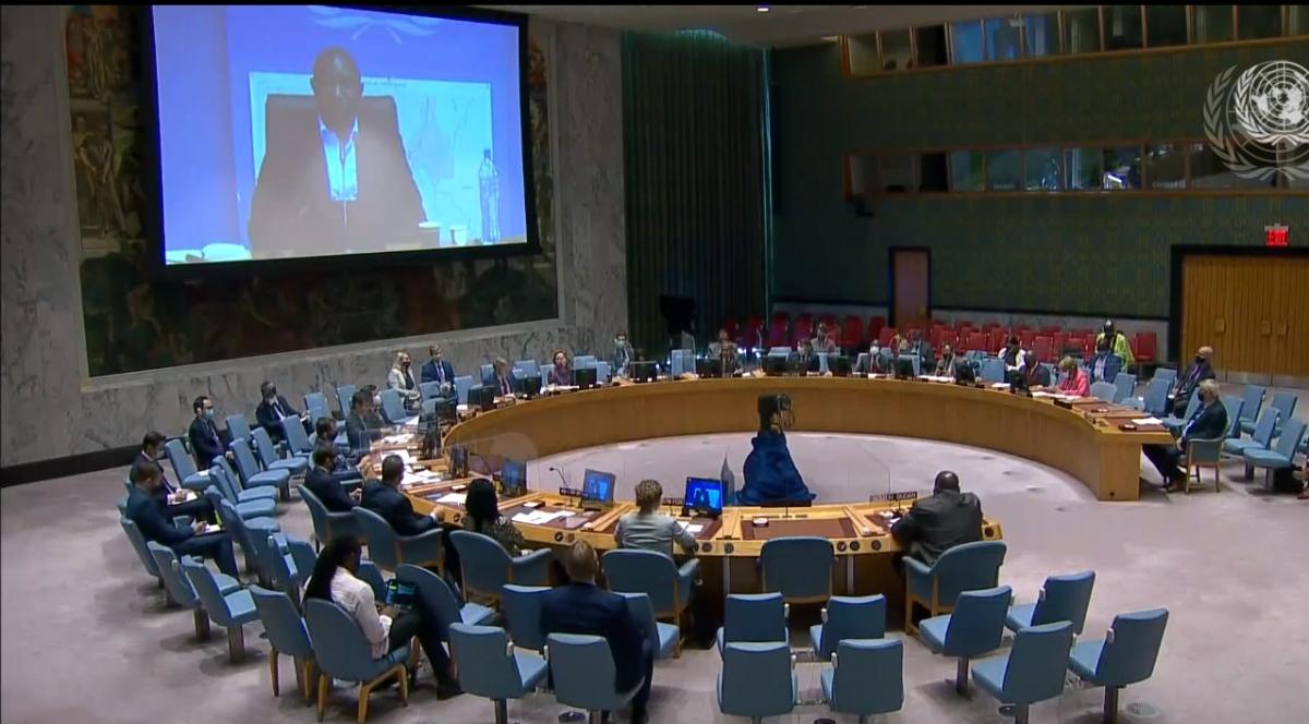 Hội đồng Bảo an Liên Hợp Quốc họp về tình hình Nam Sudan.