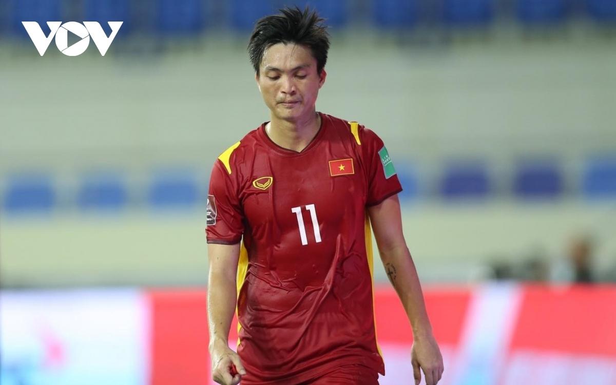 Tuấn Anh bỏ lỡ trận gặp Malaysia sau khi dính chấn thương ở trận gặp Indonesia. (Ảnh: CTV Yểu Mai)