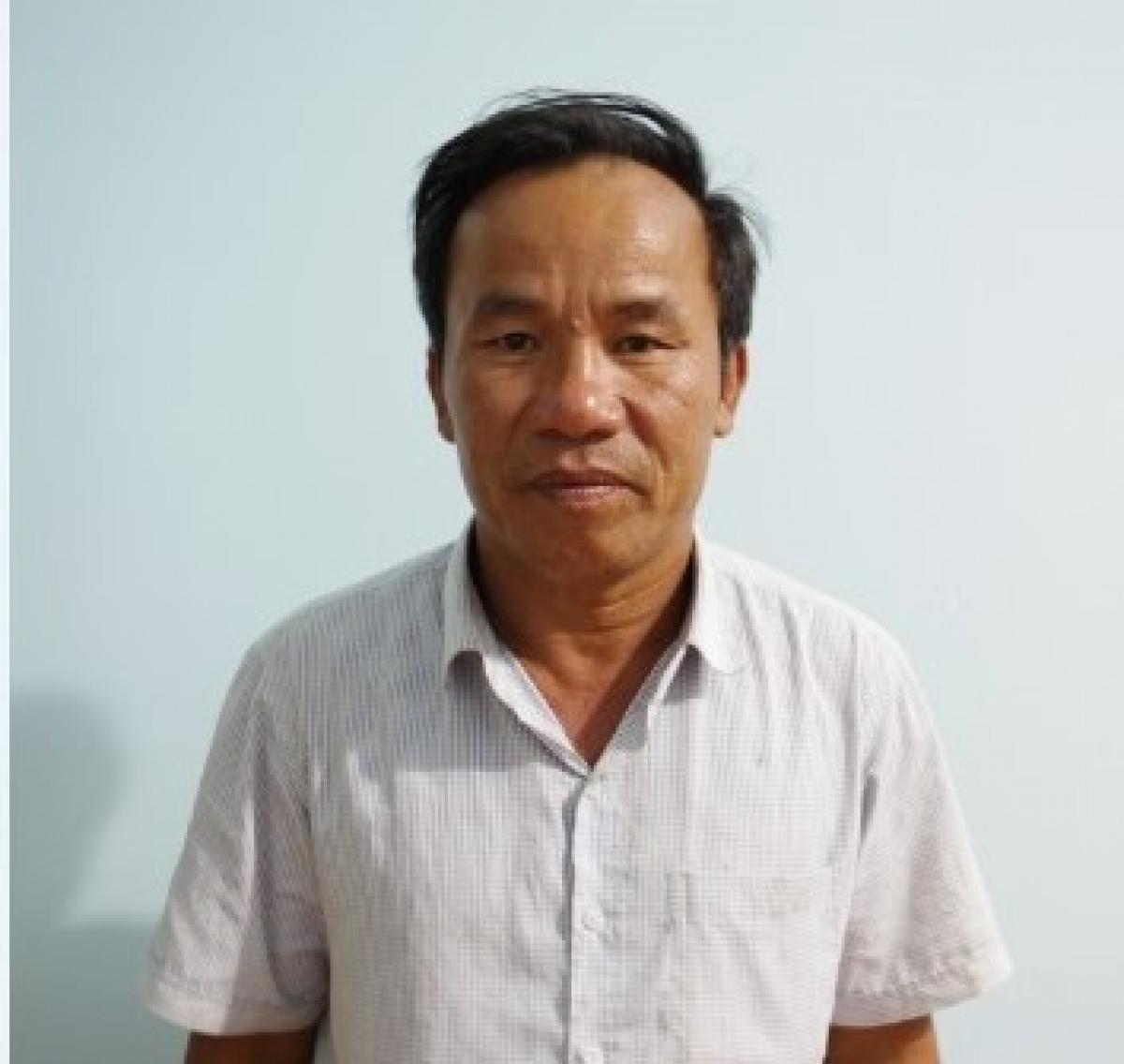 Đối tượng Nguyễn Duy Vọ.