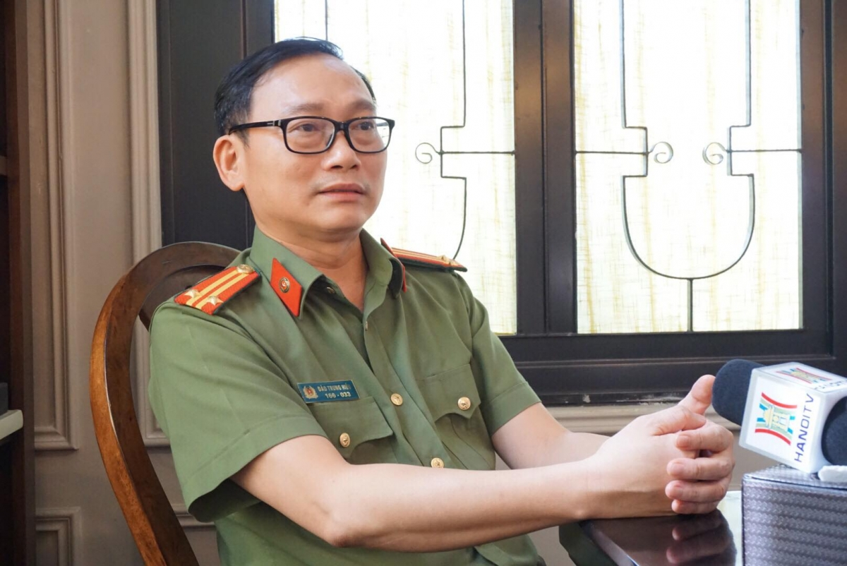 Trung tá Đào Trung Hiếu, chuyên gia Tội phạm học, Bộ Công an.