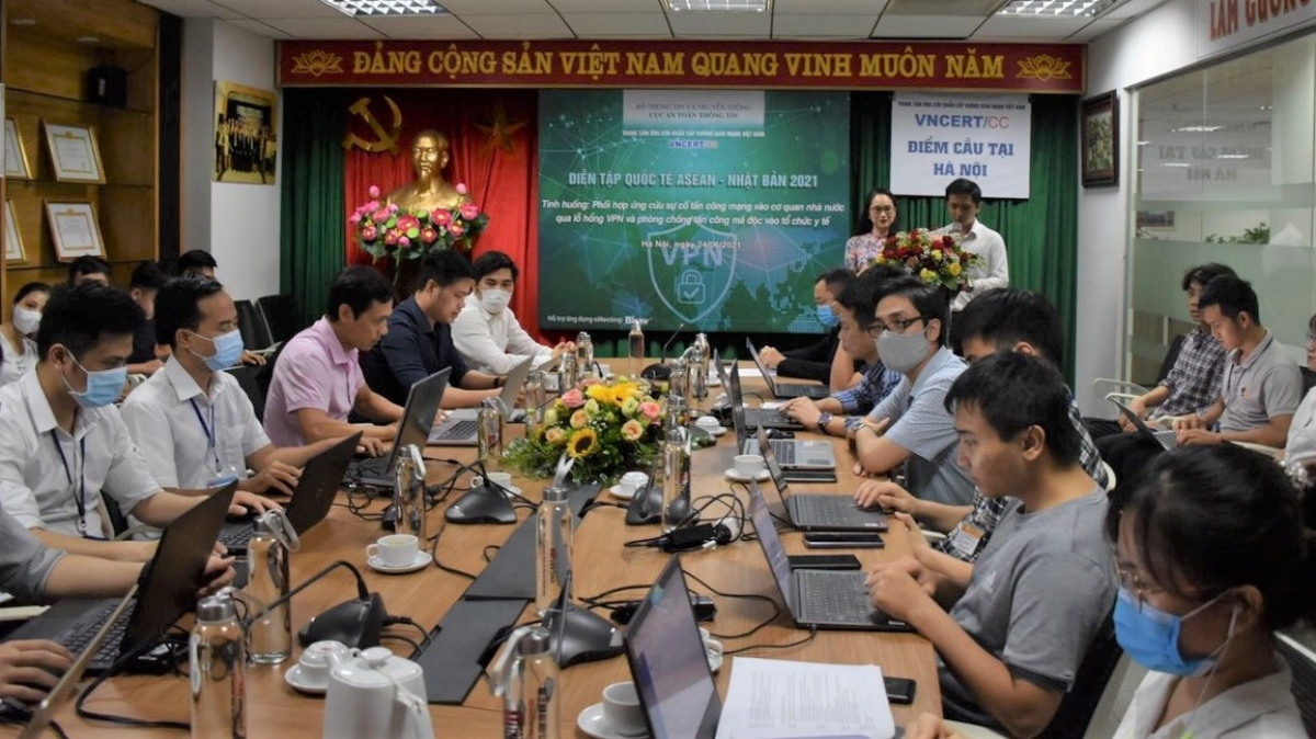 Diễn tập ASEAN Nhật Bản 2021 đưa ra các tình huống thực đã và đang xảy ra hiện nay