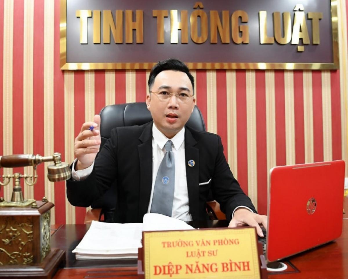 Luật sư Diệp Năng Bình, Trưởng VP Luật sư Tinh Thông luật.