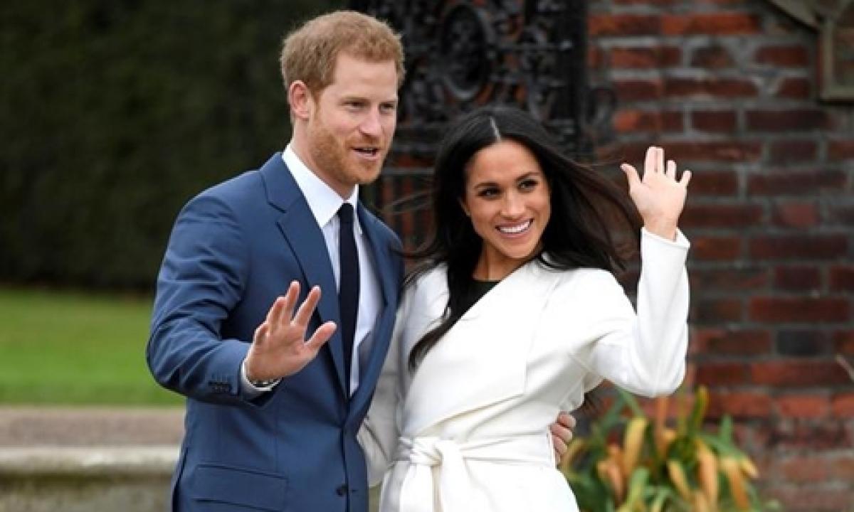 Vợ chồng hoàng tử Harry (Ảnh: AP)