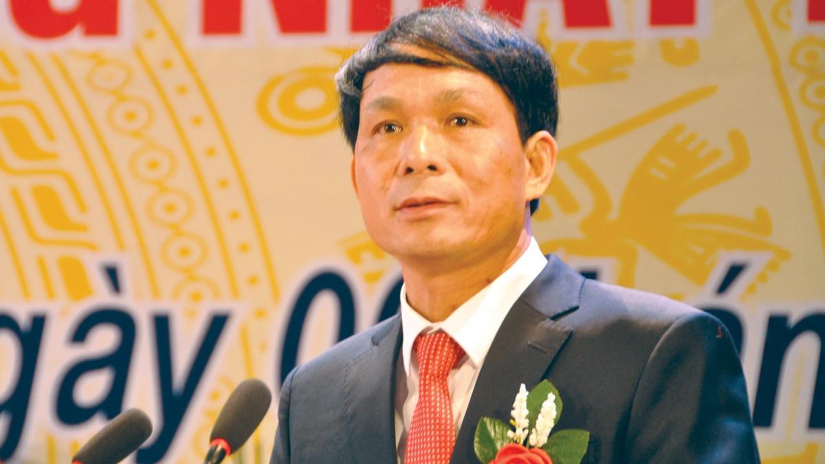 Ông Lương Văn Thư, Chủ tịch HĐQT kiêm Tổng Giám đốc Công ty CP May Đáp Cầu.