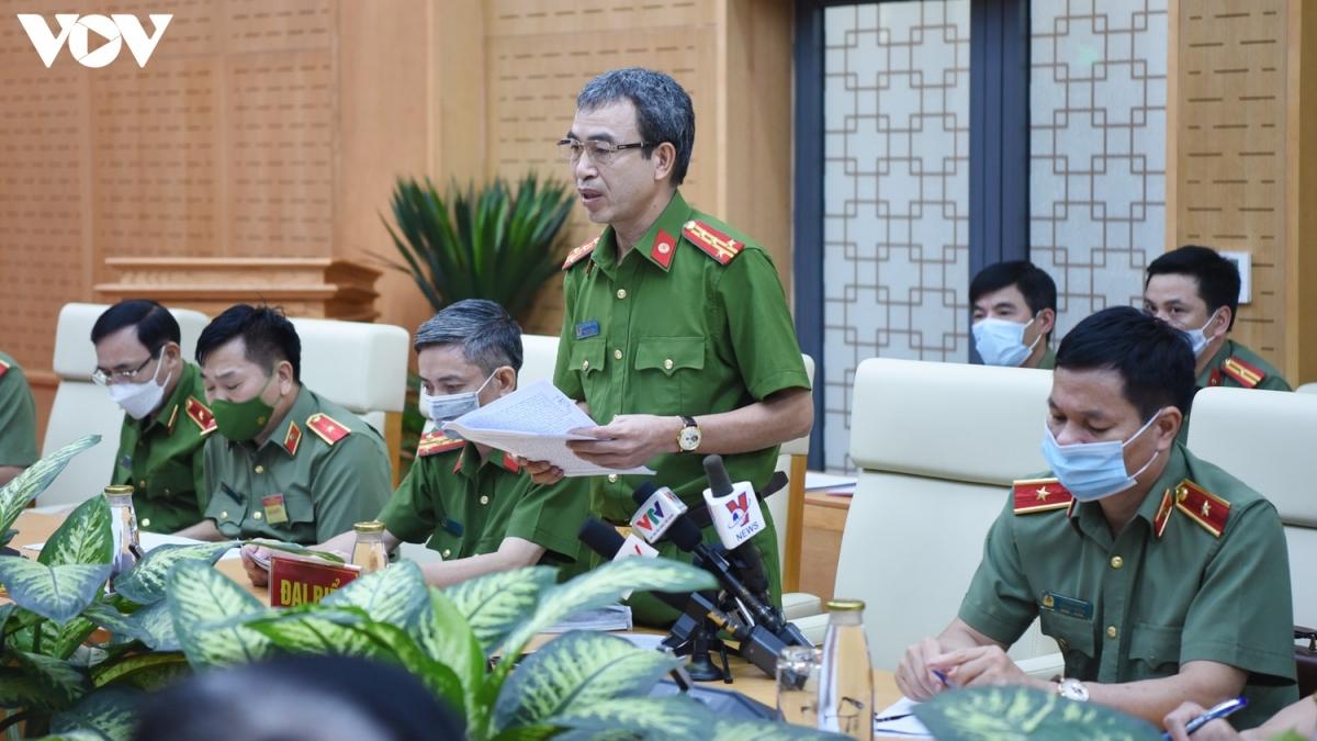 Đại tá Nguyễn Văn Thành, Phó Cục trưởng C03. (Ảnh: Trọng Phú)