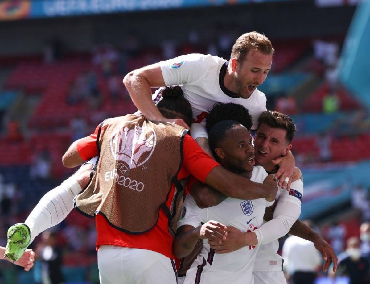 ĐT Anh có khởi đầu tốt ở EURO 2021 khi đánh bại Croatia (Ảnh: Getty).