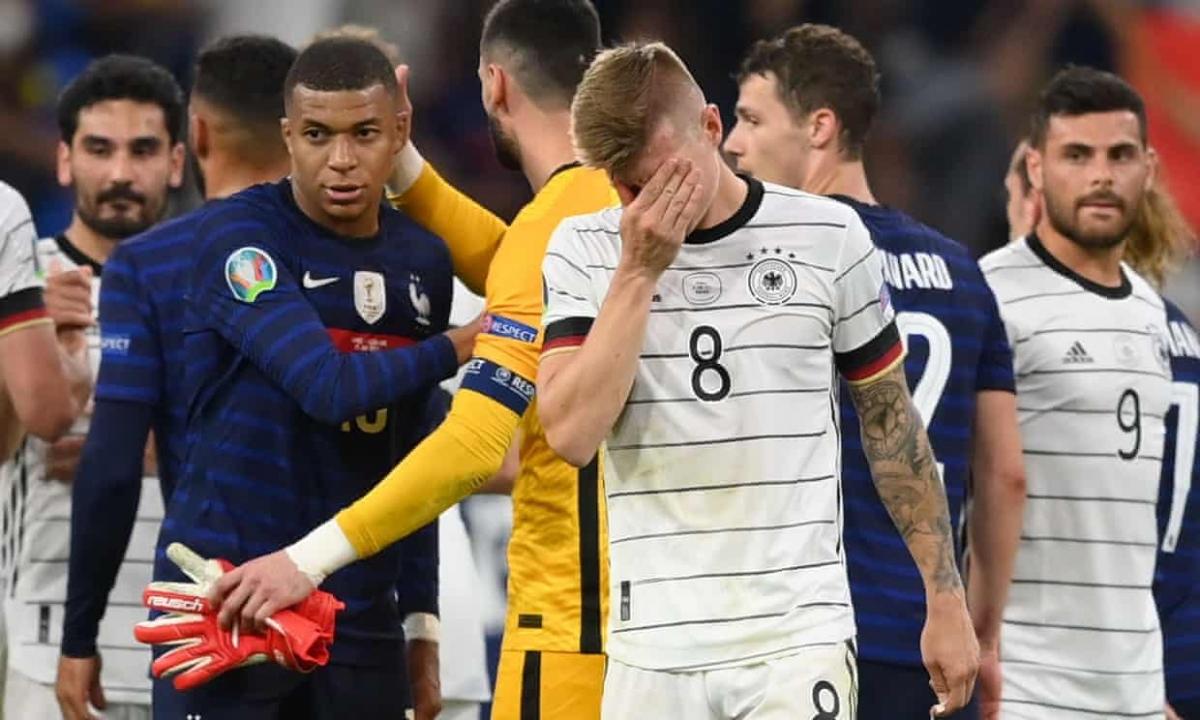 Đức ra quân thất bại, Pháp khởi đầu thuận lợi tại bảng tử thần EURO 2021.