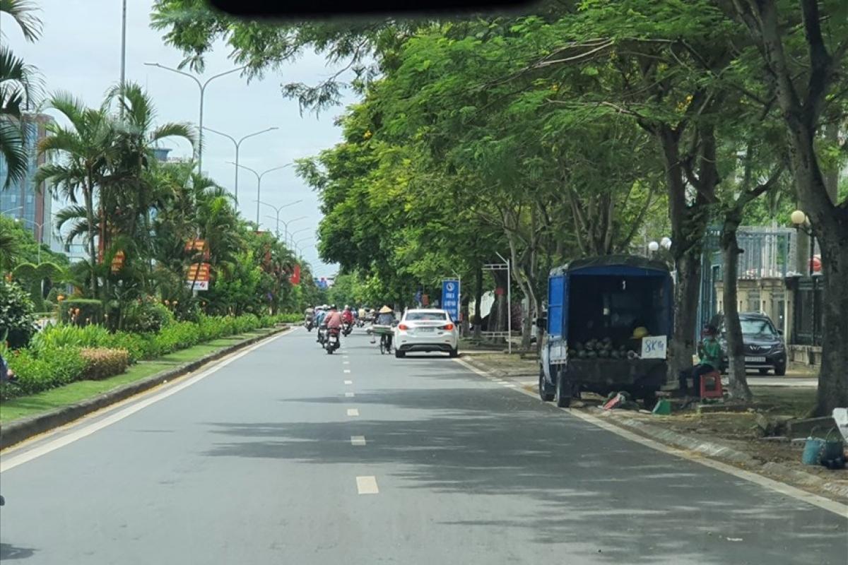 Đường Lê Hồng Phong (Hải Phòng), khu vực bà H. bị tấn công. (Ảnh minh họa)