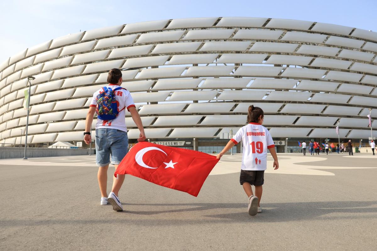 CĐV Thổ Nhĩ Kỳ vẫn chưa được chứng kiến đội nhà ghi bàn ở EURO 2021. (Ảnh: Getty)