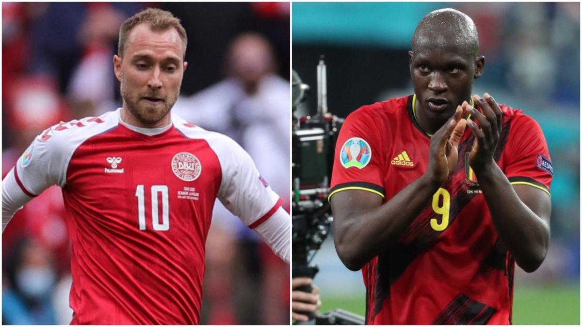 Romelu Lukaku và các cầu thủ tham dự trận Đan Mạch - Bỉ sẽ tạm dừng thi đấu ở phút thứ 10 để tri ân Christian Eriksen. (Ảnh: Goal)
