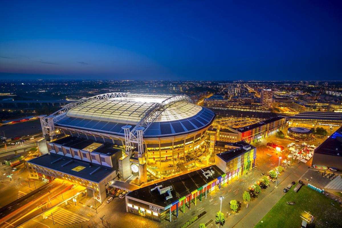 Hà Lan sẽ được chơi cả 3 trận vòng bảng trên sân nhà Amsterdam. (Ảnh: Getty)