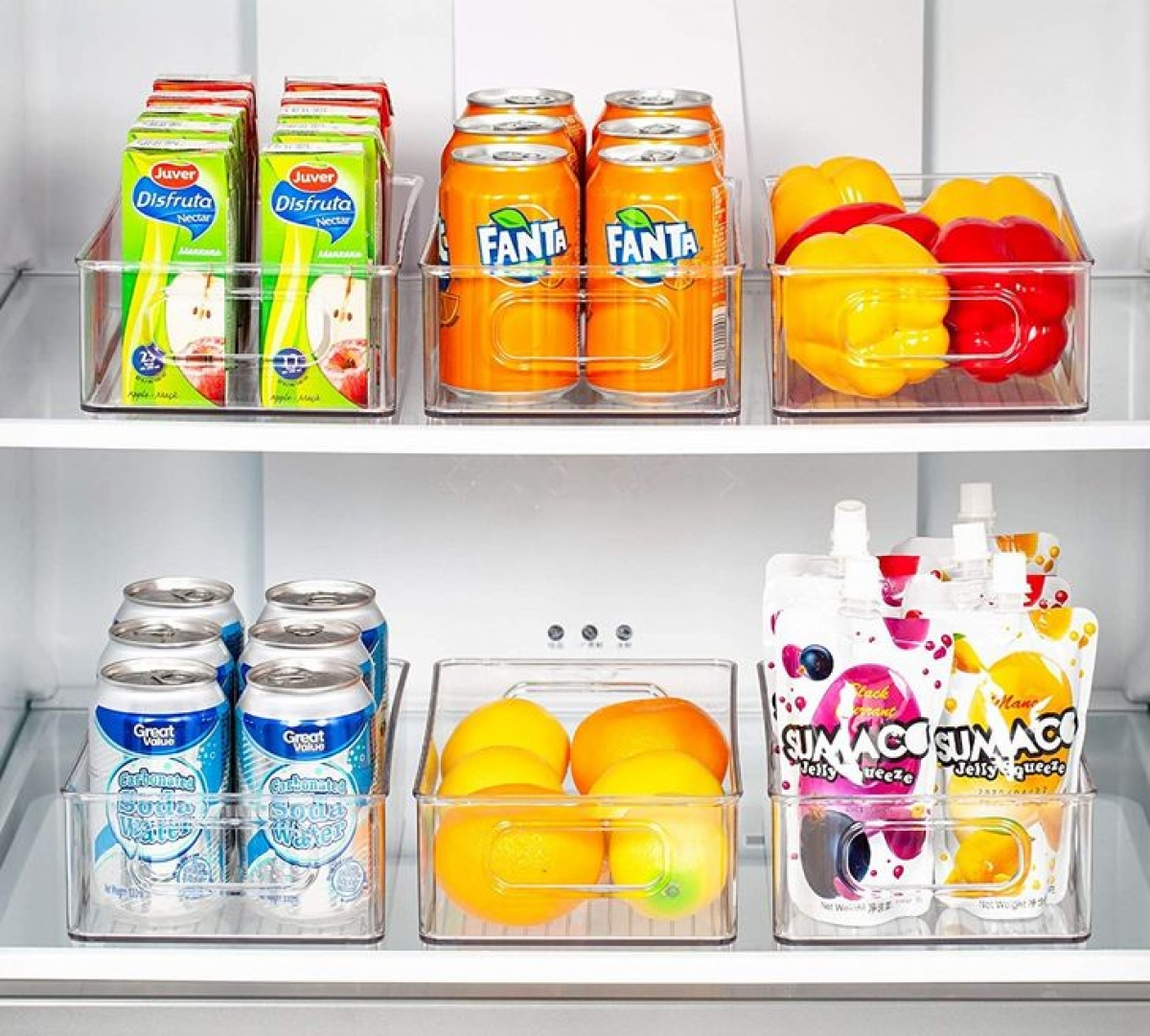Phân loại như thế này giúp tủ lạnh xinh xắn và gọn gàng.