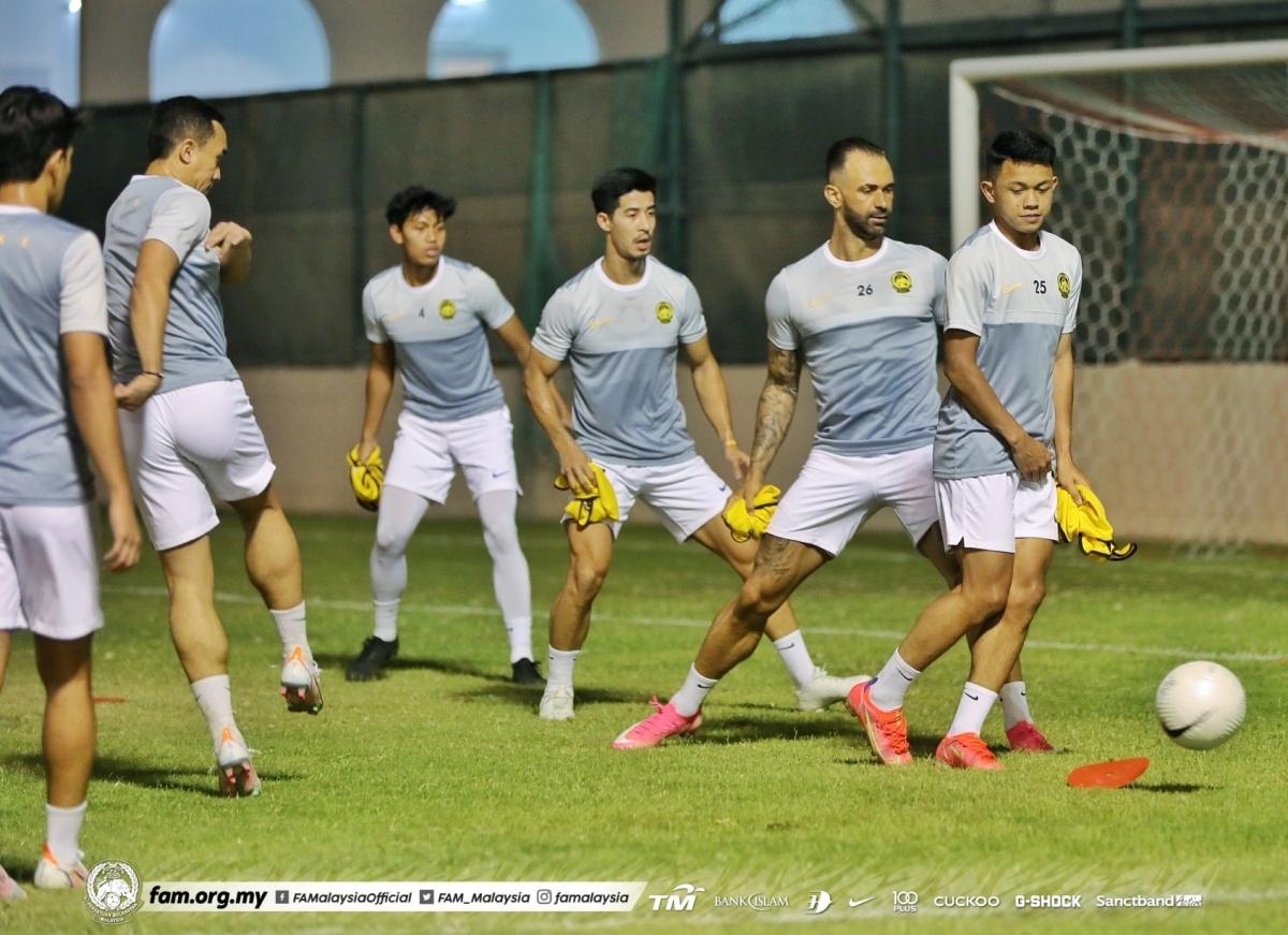 ĐT Malaysia dù nhập tịch nhiều cầu thủ nhưng sẽ đối mặt nhiều khó khăn khi chạm trán chủ nhà UAE. (Ảnh: FAM).