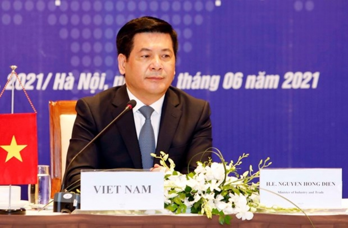 Minister of Industry and Trade Nguyen Hong Dien (Photo: VNA)