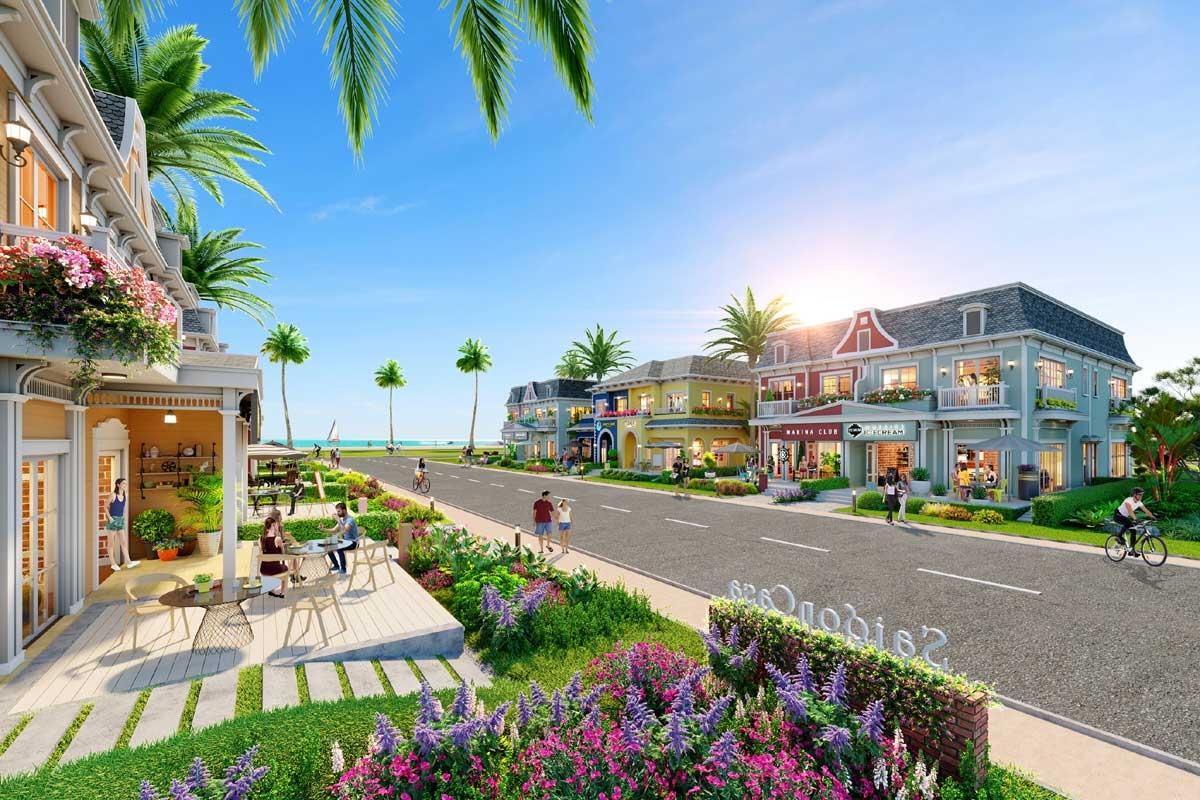 Shop villa Wonderland – phiên bản nâng cấp hoàn hảo của nhà phố thương mại.