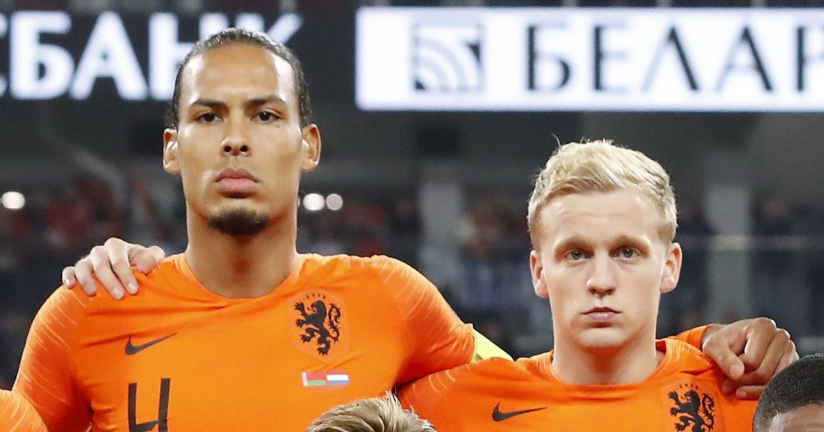 Hà Lan thiếu vắng 2 ngôi sao Premier League là Virgil Van Dijk và Van De Beek. (Ảnh: Getty)