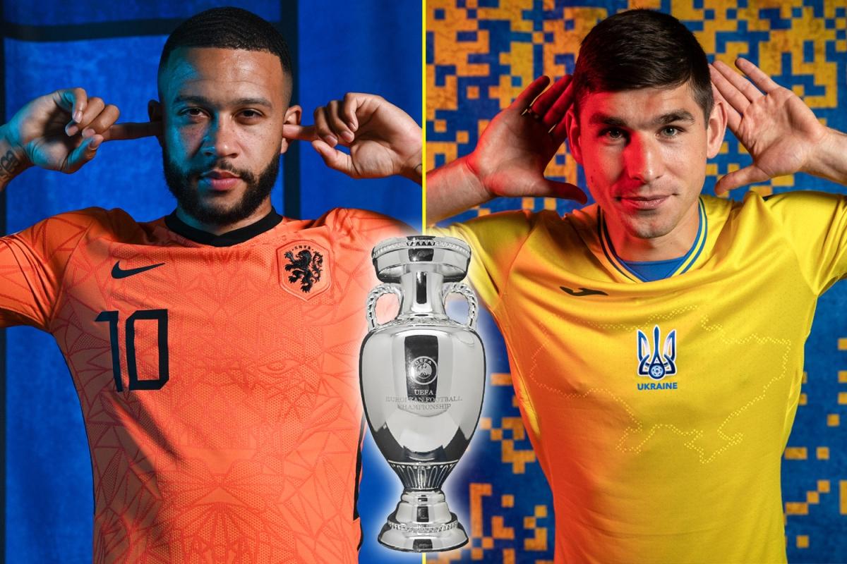 Trận đấu giữa Hà Lan và Ukraine được xem là chung kết sớm của bảng C. (Ảnh: talkSPORT)