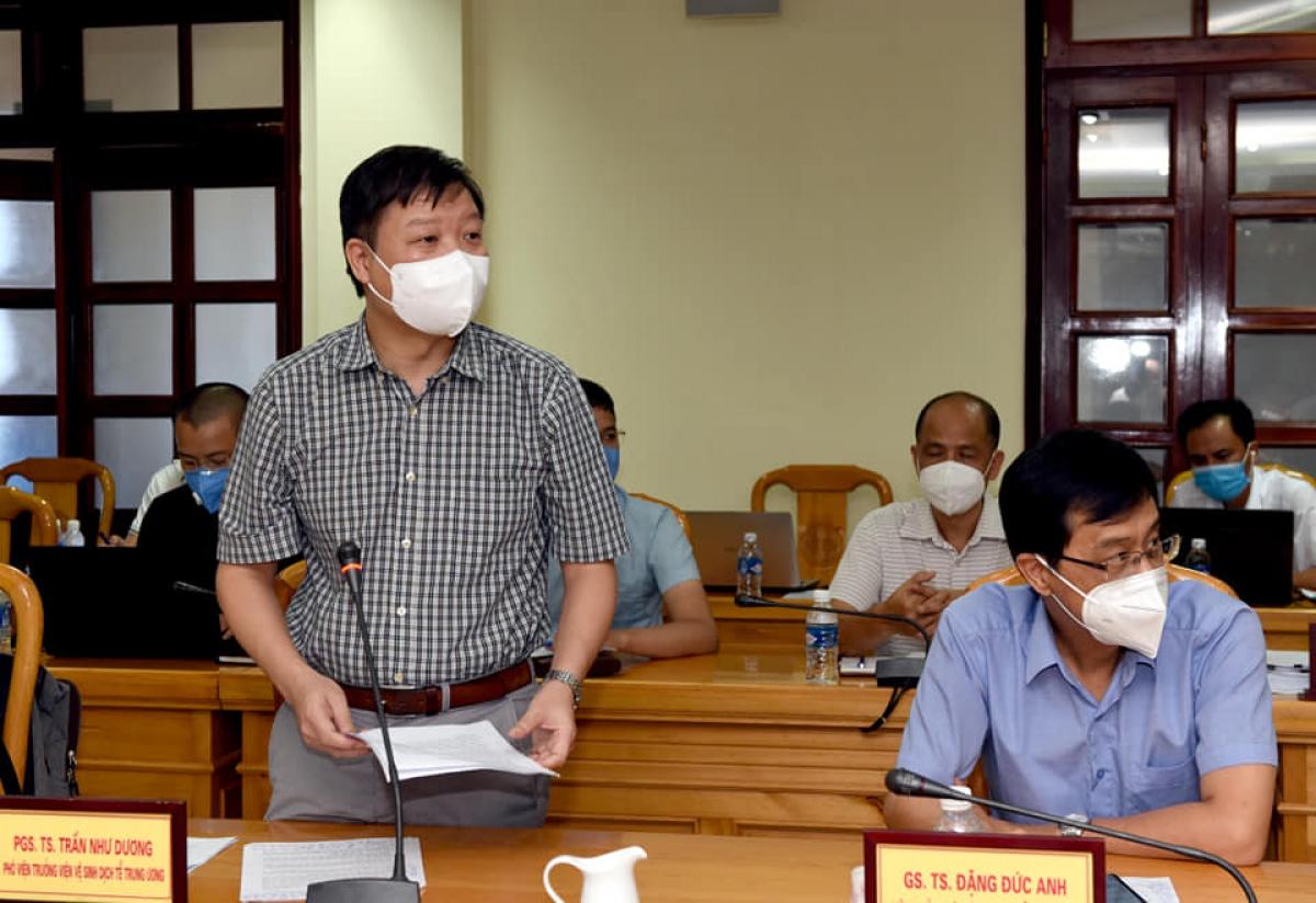 PGS.TS Trần Như Dương- Phó Viện trưởng Viện Vệ sinh dịch tễ Trung ương. (Ảnh: Từ Thành)