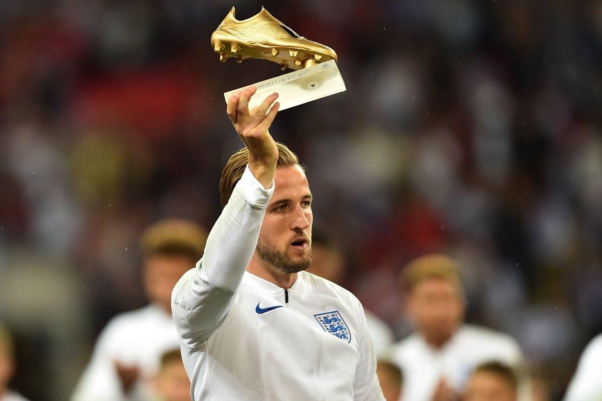 Harry Kane từng giành ngôi Vua phá lưới World Cup 2018. (Ảnh: Getty)