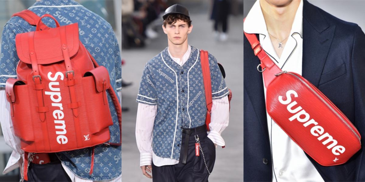Louis Vuitton và Supreme đã tạo nên cơn sốt thời trang chưa từng có.