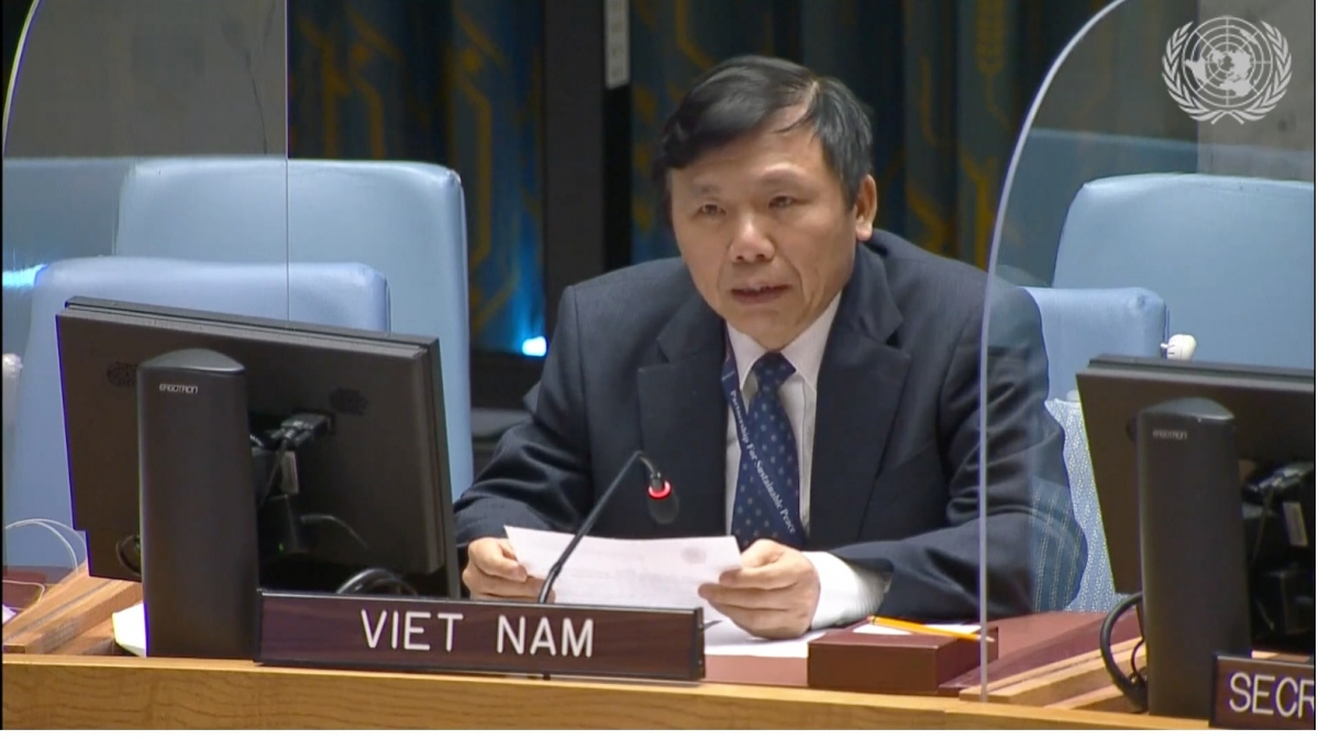 Đại sứ Đặng Đình Quý, Trưởng Phái đoàn Việt Nam tại LHQ hoan nghênh những tiến triển tích cực gần đây ở Sudan.