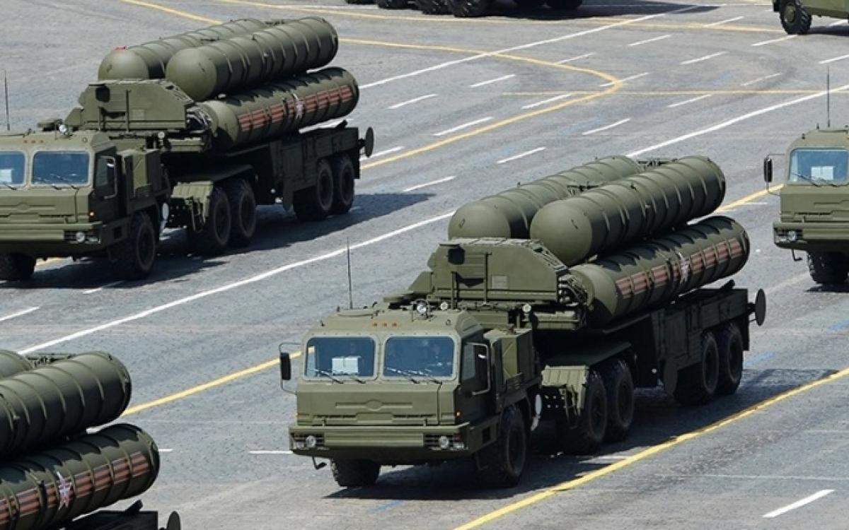 Hệ thống S-400 của Nga. Ảnh: Al Jazeera.