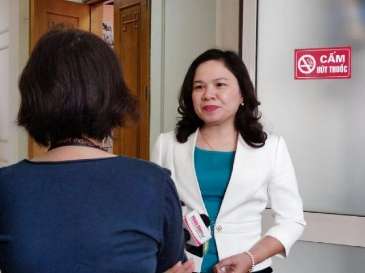 PGS TS Dương Thị Hồng, Phó Viện trưởng Viện Vệ sinh dịch tễ Trung ương, Trưởng Văn phòng Tiêm chủng mở rộng Quốc gia.