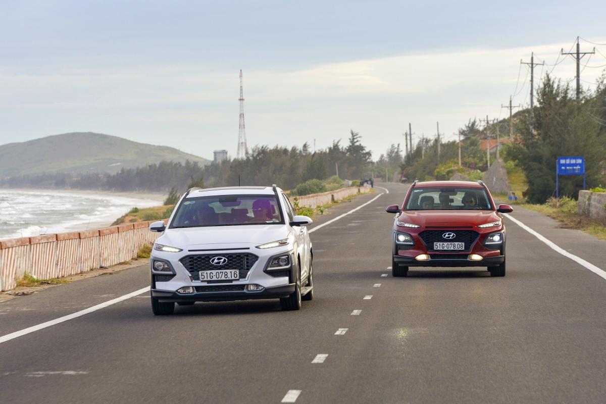 Hyundai Kona được ưu đãi cao nhất - 40 triệu đồng.