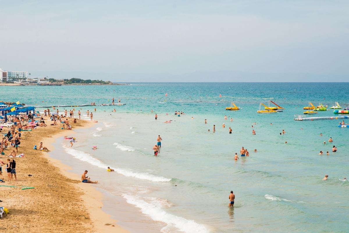 Bãi biển tại Síp sạch nhất châu Âu. Nguồn: Getty Images