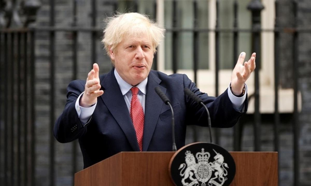 Thủ tướng Anh Boris Johnson (Ảnh: KT)