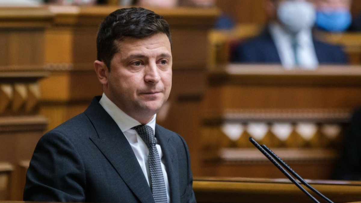 Tổng thống Ukraine Vladimir Zelensky. Ảnh: AP