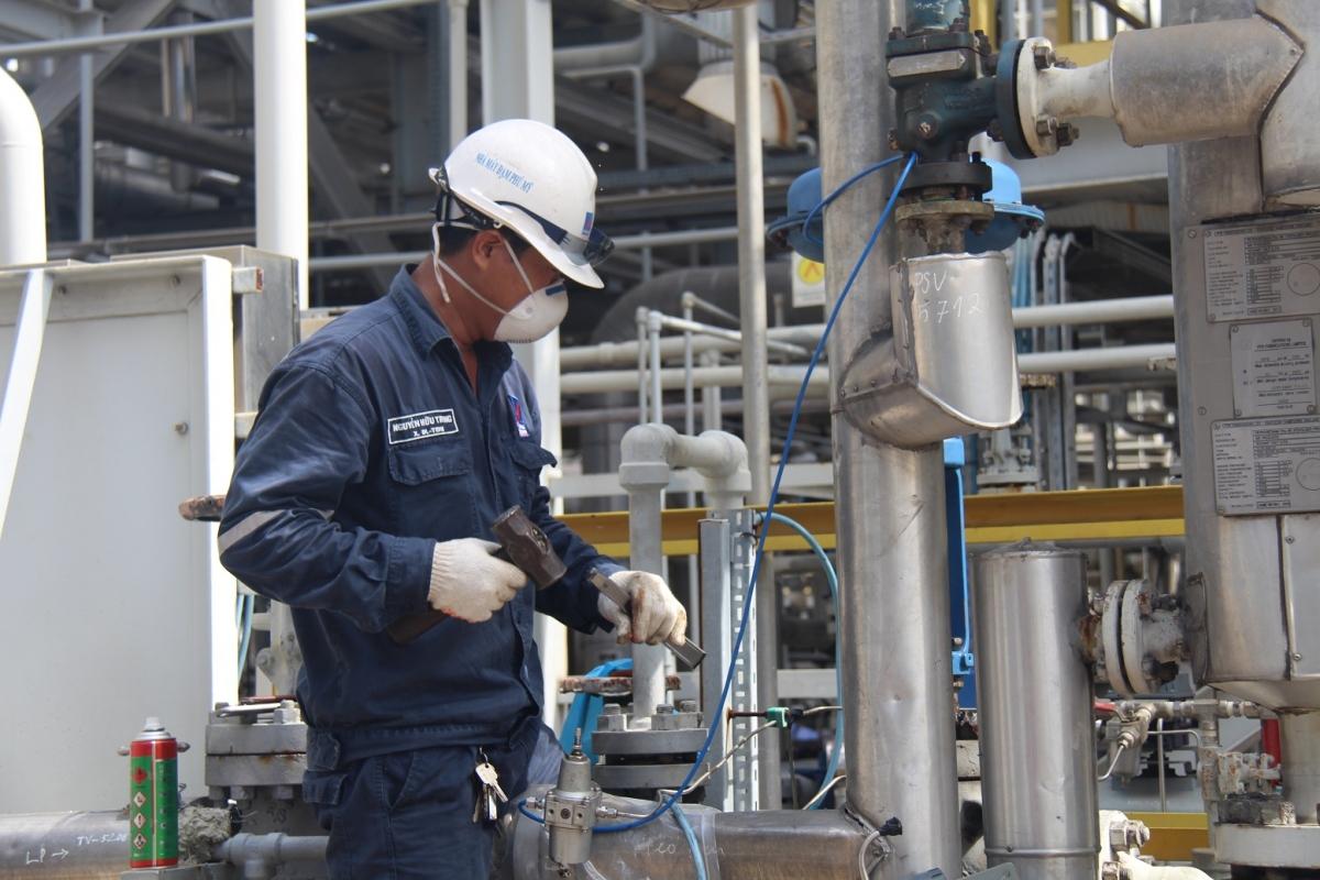 Bảo dưỡng tổng thể Nhà máy Đạm Phú Mỹ an toàn, vượt tiến độ.