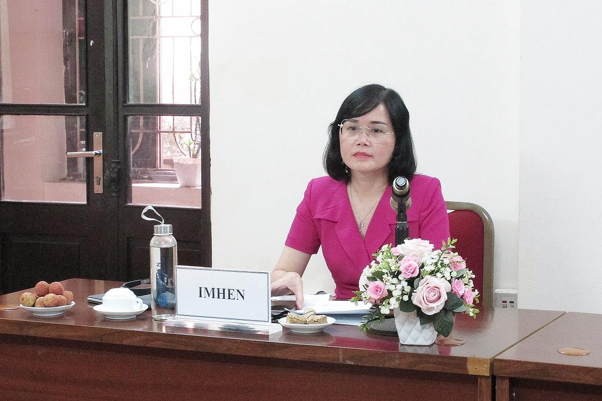 PGS. TS. Huỳnh Thị Lan Hương, Phó Viện trưởng Viện Khoa học KTTV&BĐKH.