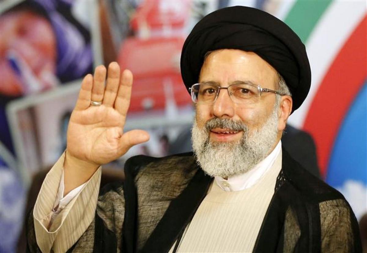 Tổng thống đắc cử Iran, ông Seyyed Ebrahim Raisi. Ảnh: AFP