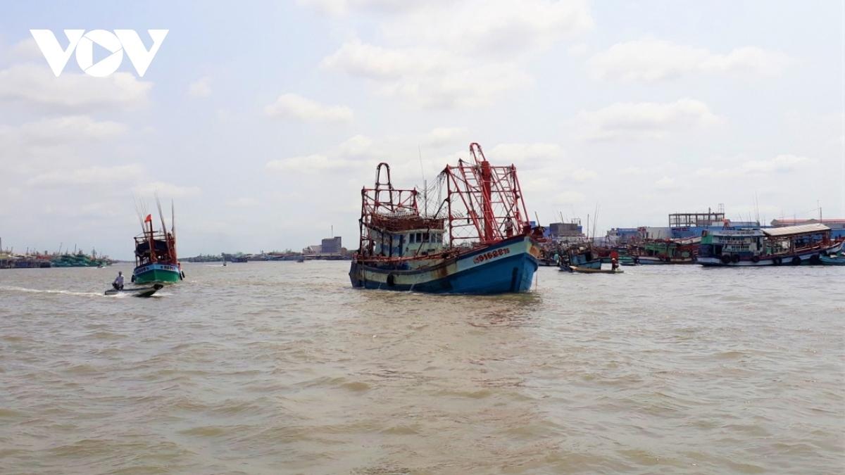Cần xử lý tổ chức, cá nhân để tàu cá khai thác hải sản trái phép để khắc phục thẻ vàng IUU.