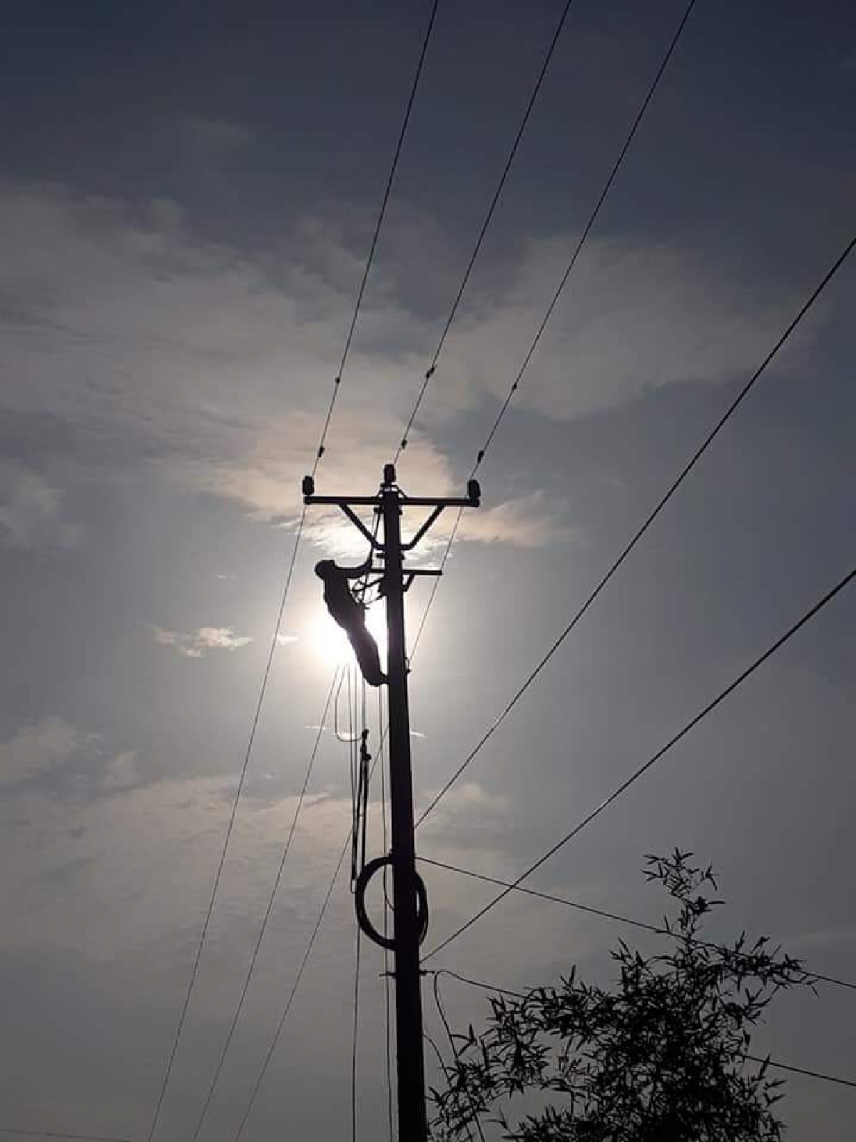 Công nhân Điện lực nỗ lực đảm bảo cung cấp điện trong nắng nóng.