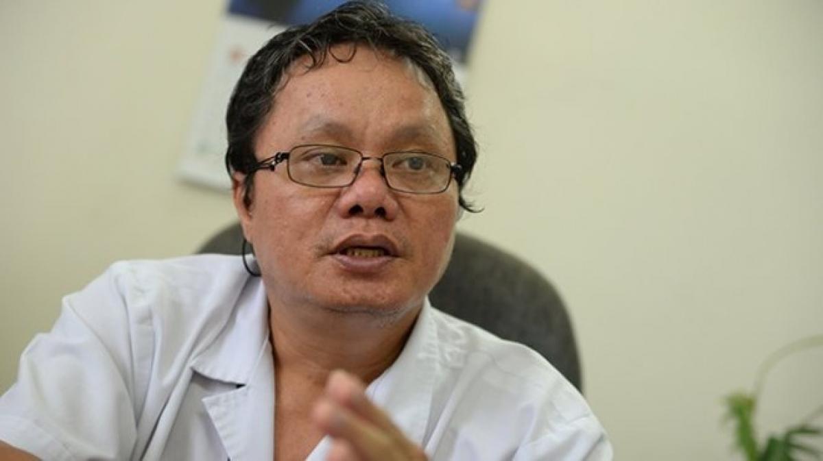BS Trương Hữu Khanh, Trưởng khoa Nhiễm - Thần kinh, Bệnh viện Nhi đồng I TP.HCM.