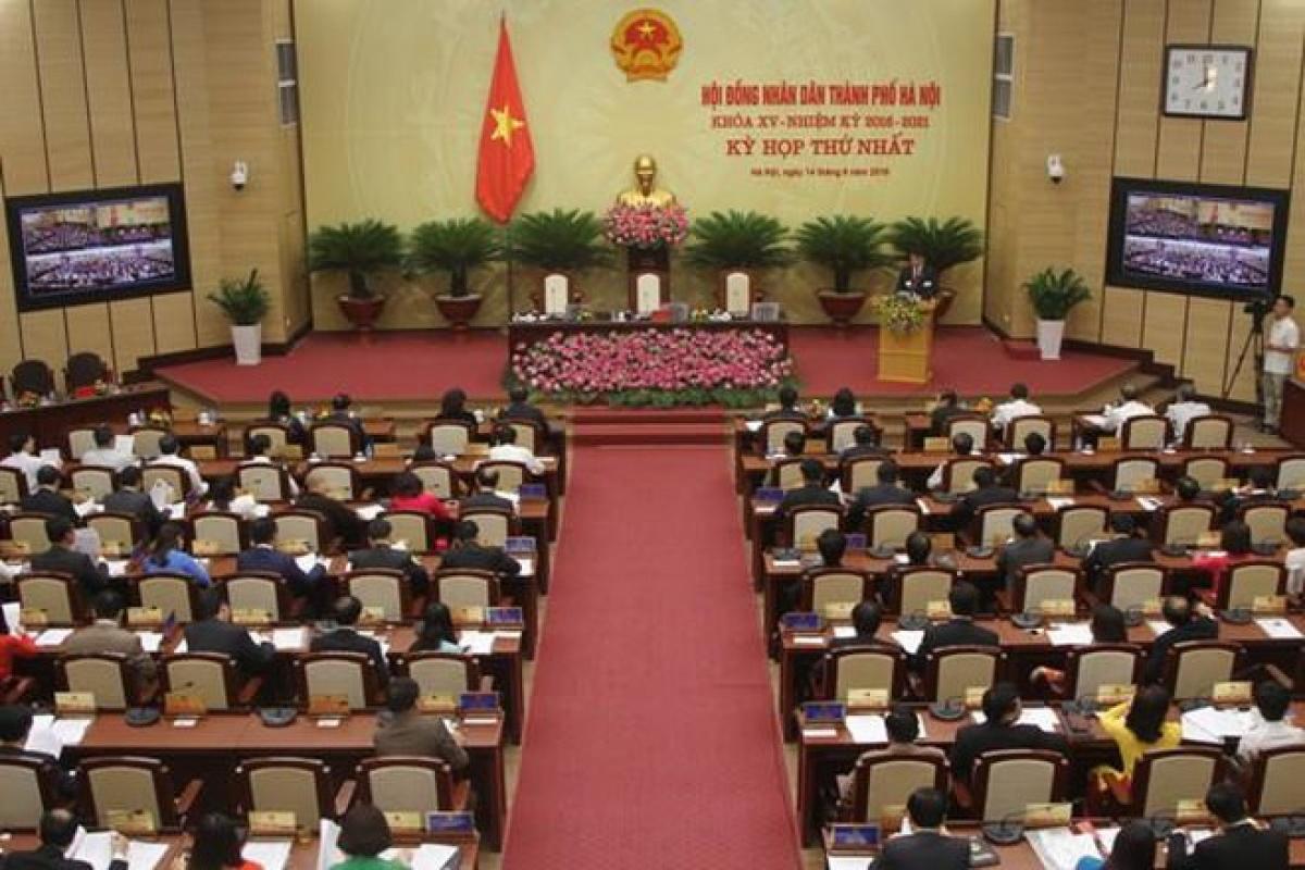 Kỳ họp thứ nhất HĐND TP nhiệm kỳ 2021-2026 bầu các chức danh chủ chốt theo thẩm quyền (Ảnh minh hoạ)