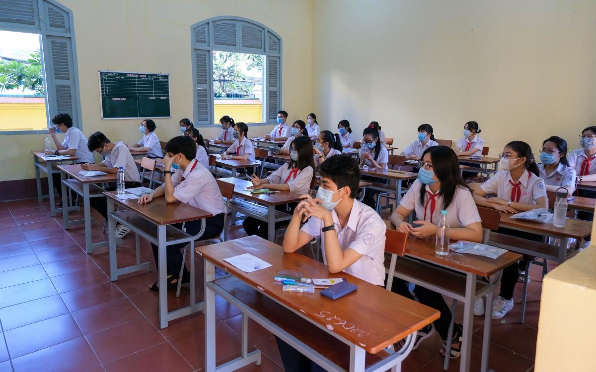 Kỳ thi tuyển sinh lớp 10 tại Cần Thơ đảm bảo mỗi môn trên 98% thí sinh dự thi.