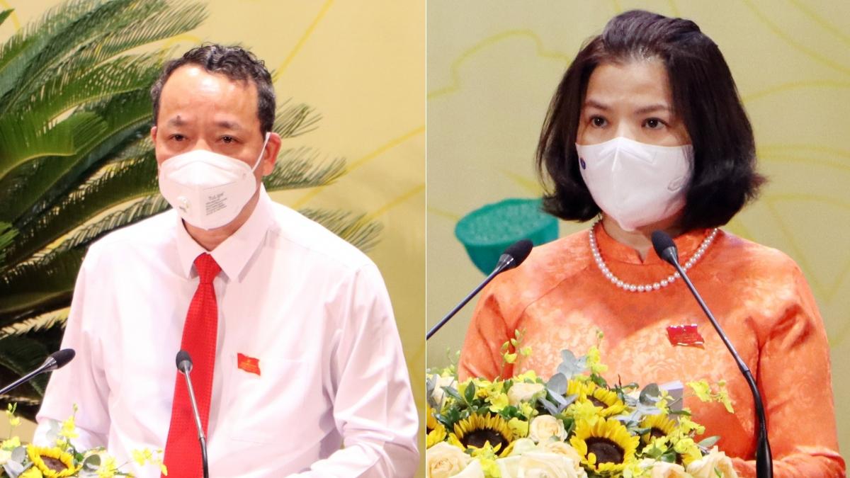 Ông Nguyễn Quốc Chung tái đắc cử chức Chủ tịch HĐND tỉnh và bà Nguyễn Hương Giang tiếp tục giữ chức Chủ tịch UBND tỉnh Bắc Ninh