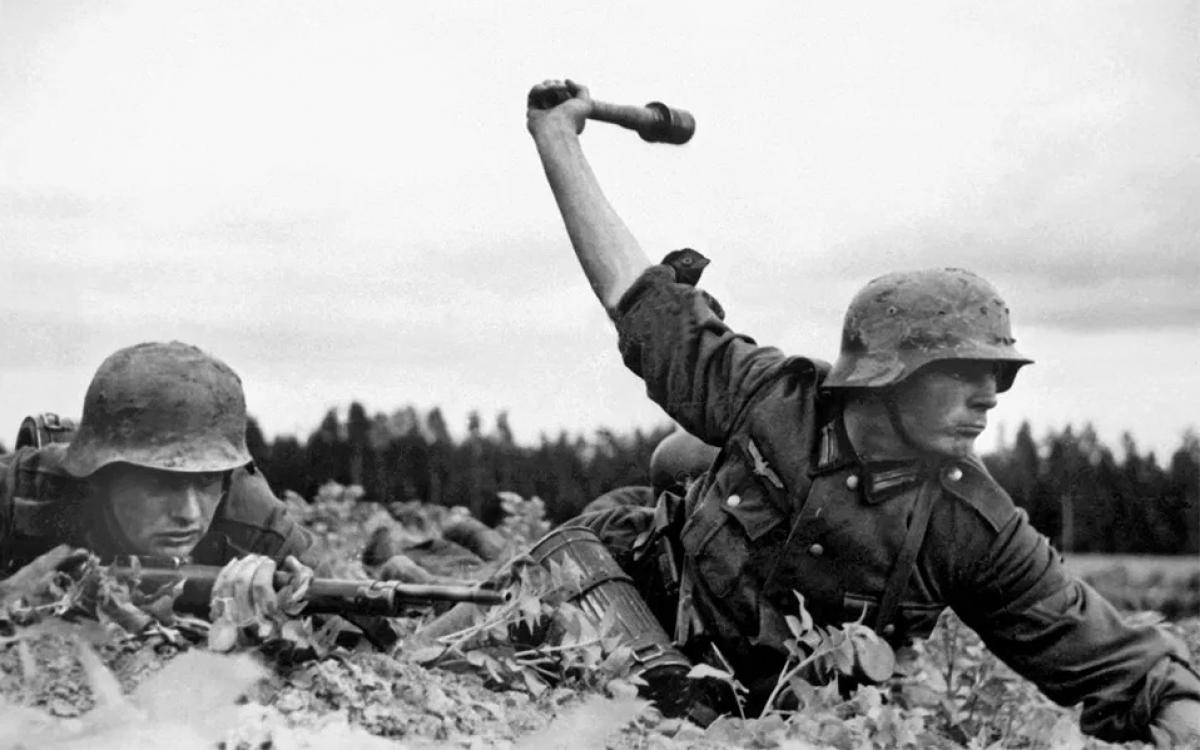 Lính phát xít Đức ở mặt trận phía Đông trong Thế chiến II. Ảnh: Tư liệu Đức.