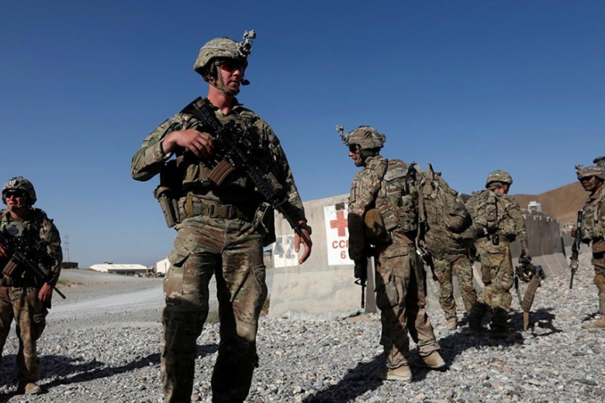 Binh sỹ Mỹ ở Afghanistan. Ảnh: Reuters