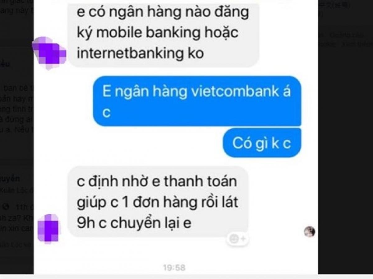 Nhiều vụ việc, đối tượng giả nhân viên ngân hàng để lửa đảo qua facebook.