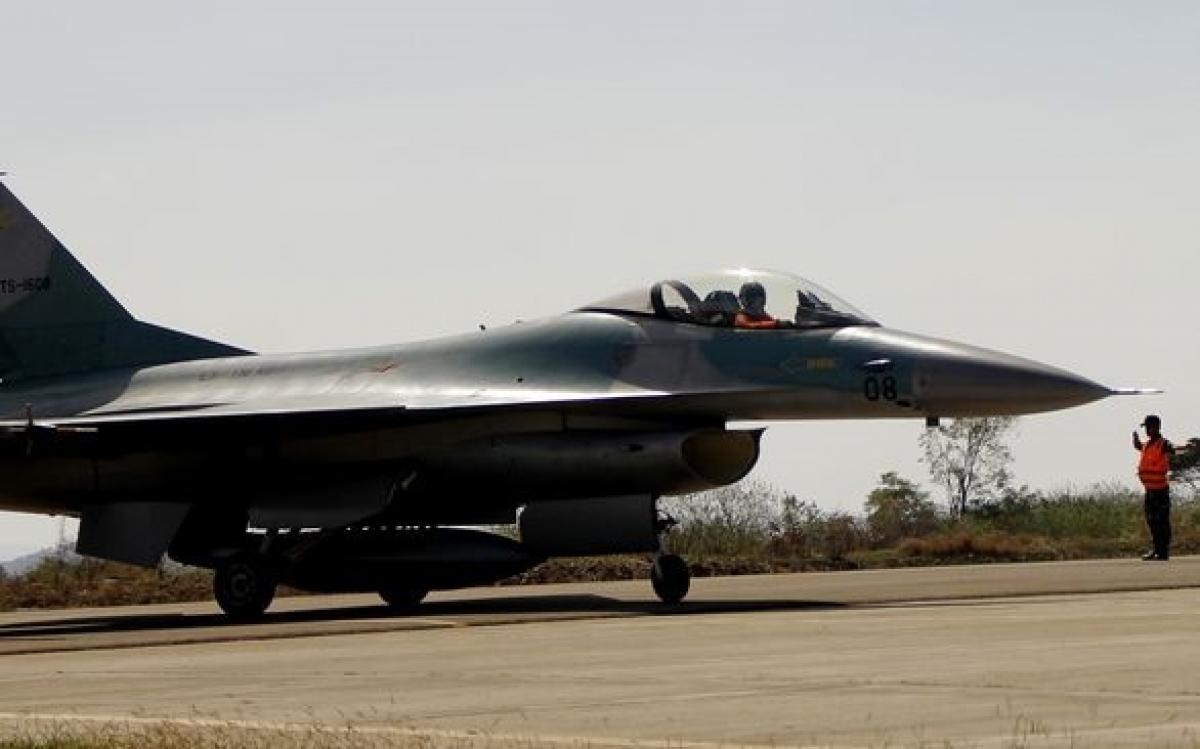 Máy bay F16 của Hoa Kỳ đến Indonesia tham gia tập trận